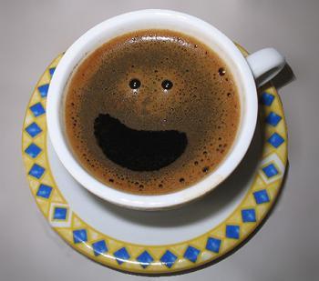 """""""Sorria! O café te ama"""", disse o Henrique ao enviar essa preciosidade do Flickr"""