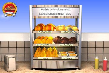 Site criativo na Salgaderia: cardápio completo e preço do 'cento' para encomendas