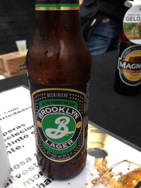 Cerveja Brooklyn Beer Lager para combinar com a costela de porco
