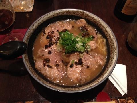 Lamen do Pub Key também está no teishoku, no almoço executivo