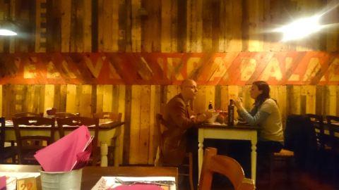 Bar da cervejaria artesanal Baladin, em Milão