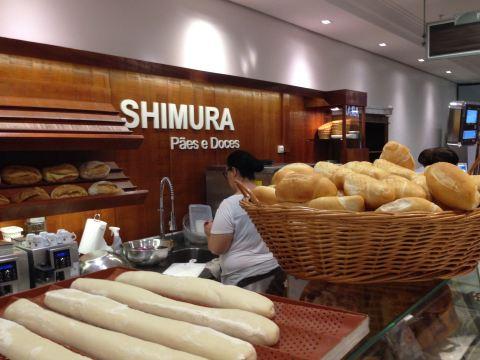 Pão artesanal fresquinho e sem frescura na Shimura do Shopping Paulista