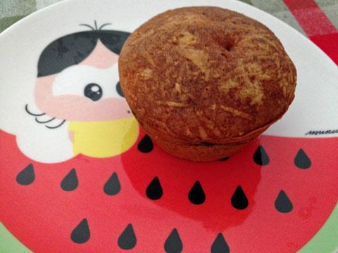 Os maravilhosos muffins de escarola (muito fofos e bem recheados) têm versão com bacon
