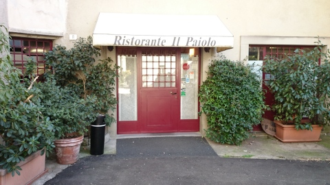 Almoço no Ristorante Il Paiolo, em Iseo. Embutidos artesanais e aspargos à milanesa.