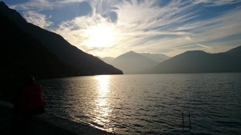 O deslumbrante Lago de Iseo é uma das atrações turísticas de Brescia.